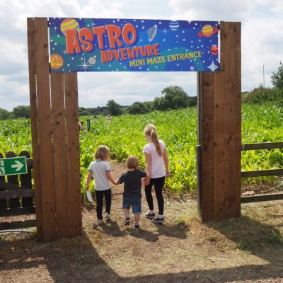 Moon landing Maize Maze – National Forest Adventure Farm