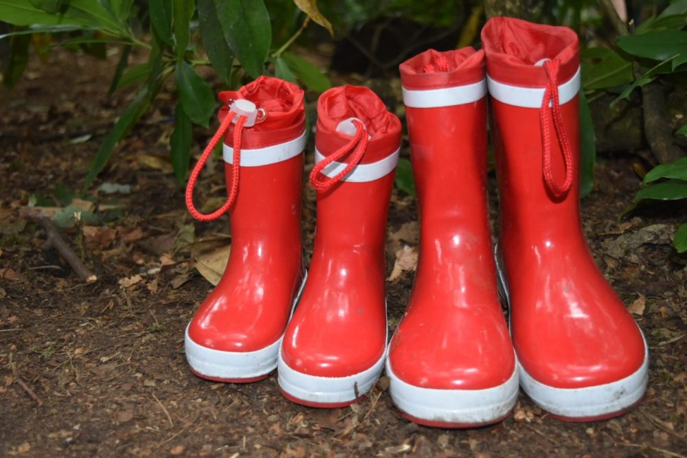 wellies are a festival essential in the UK