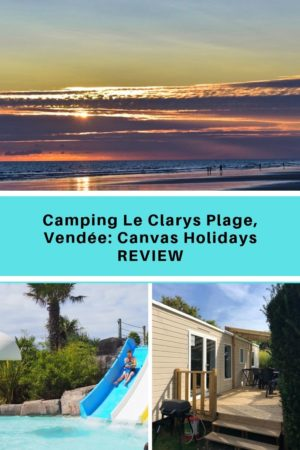 Le Clarys Plage campsite in France. Top Holiday Parc in Vendée, Camping in St Jean de Monts