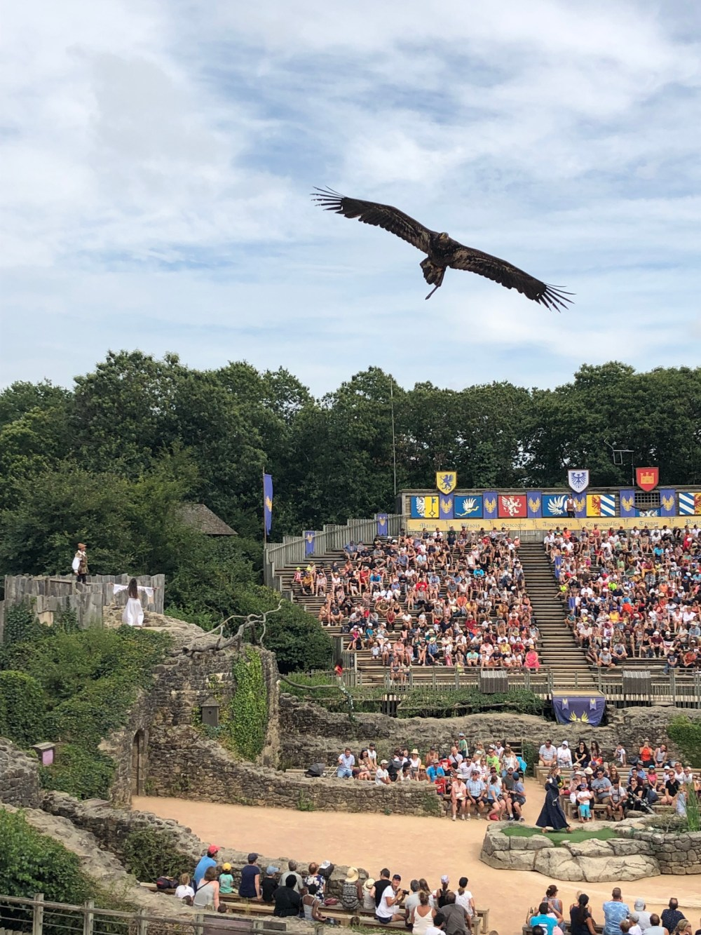 Puy du Fou with kids
