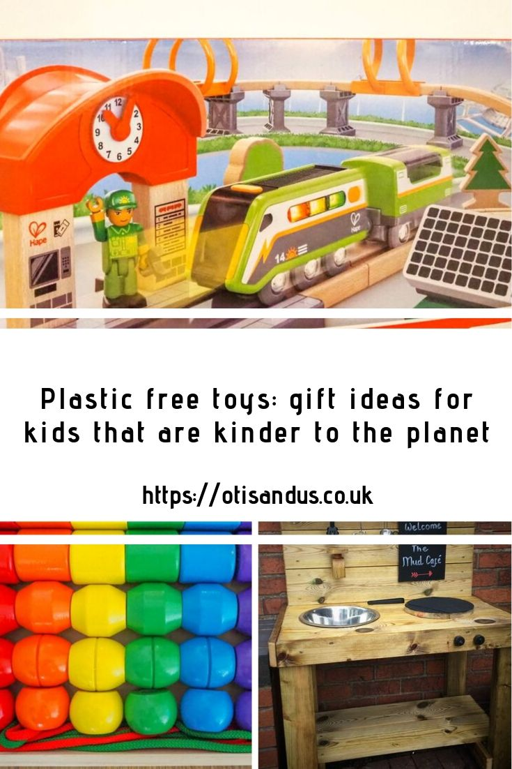 Plastic free toys: gift ideas for kids and wooden toy ideas