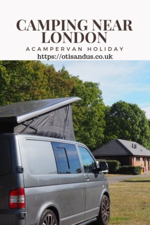 a camper van holiday with the Caravan and Motorhome Club