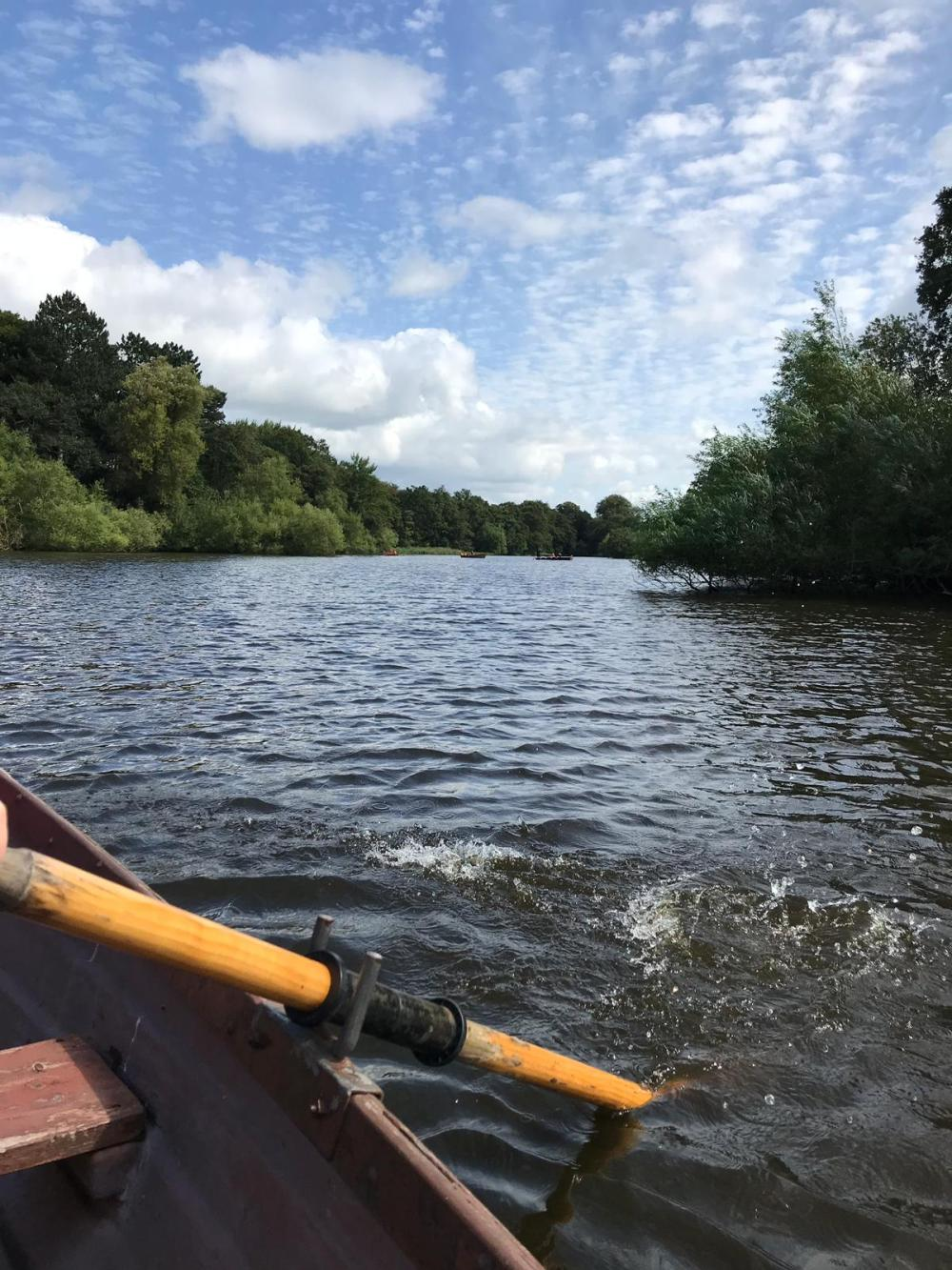 Rowing boats at Just So Festival 2019 review