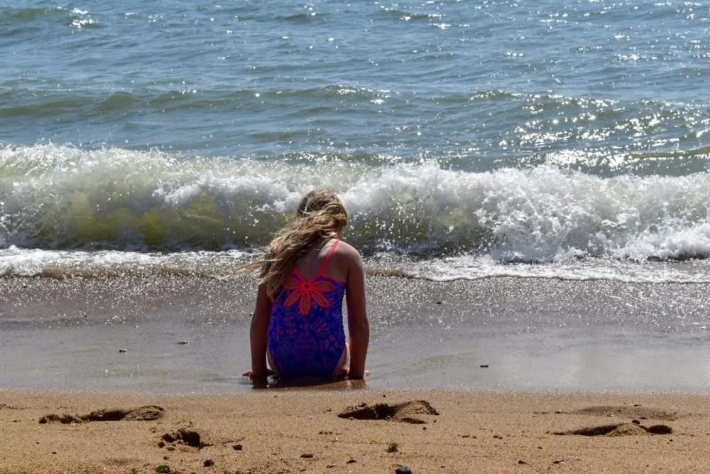 vibrant colours of Zoggs swimwear for girls
