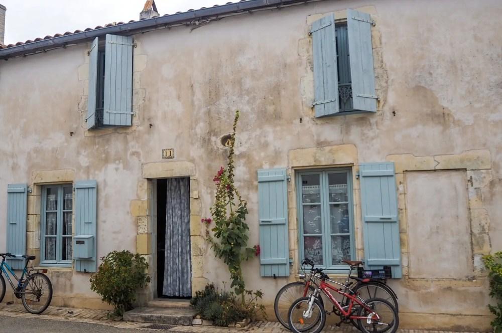 the streets of Ile de Re