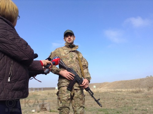 куратор батальона «Киев-1» Евгений Дейдей