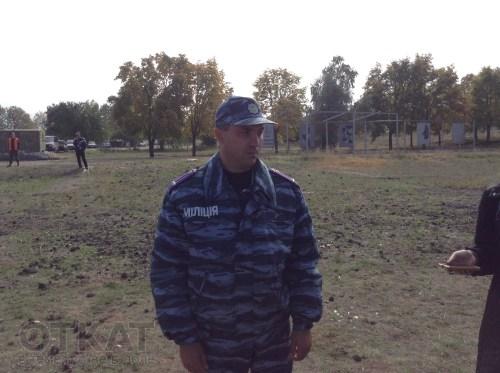 подполковник милиции Владимир Шаблиенко