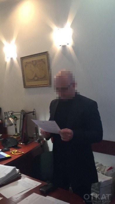 Судья Бобовский в момент задержания