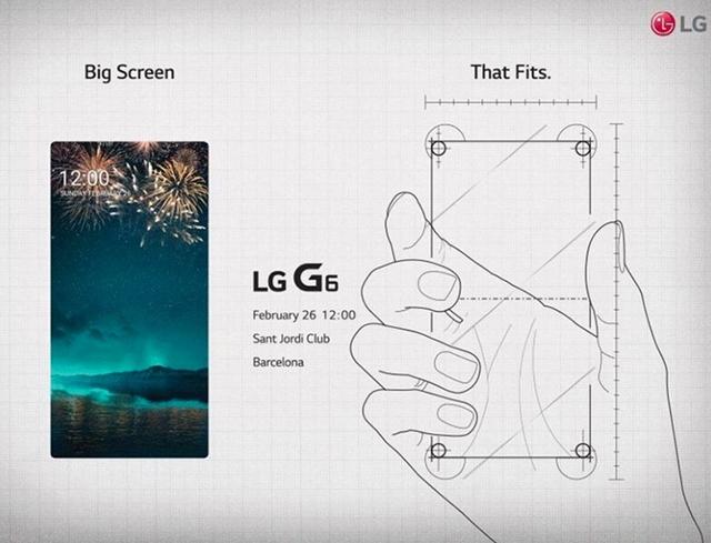 LG G6 biće predstavljen 26. februara tačno u podne