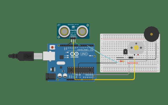Odstraszacz gołębi w Arduino