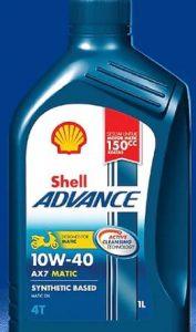 Shell Advance AX7 Matic