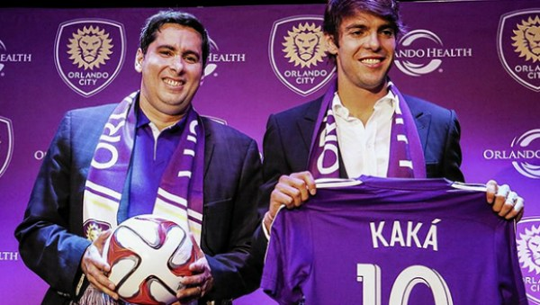 Flávio Augusto Wise up com Kaká