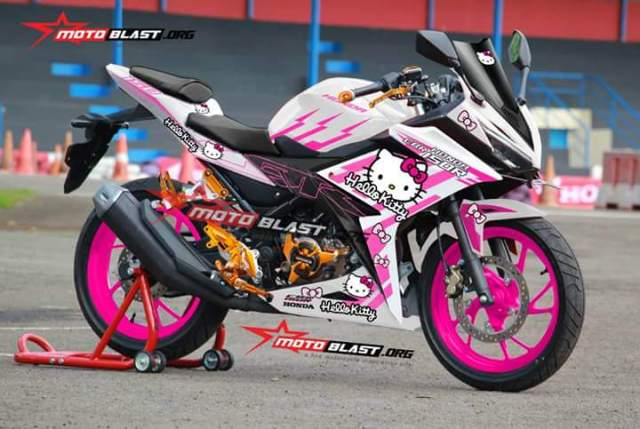 Ragam stiker decal All New CBR150R MotoBlast
