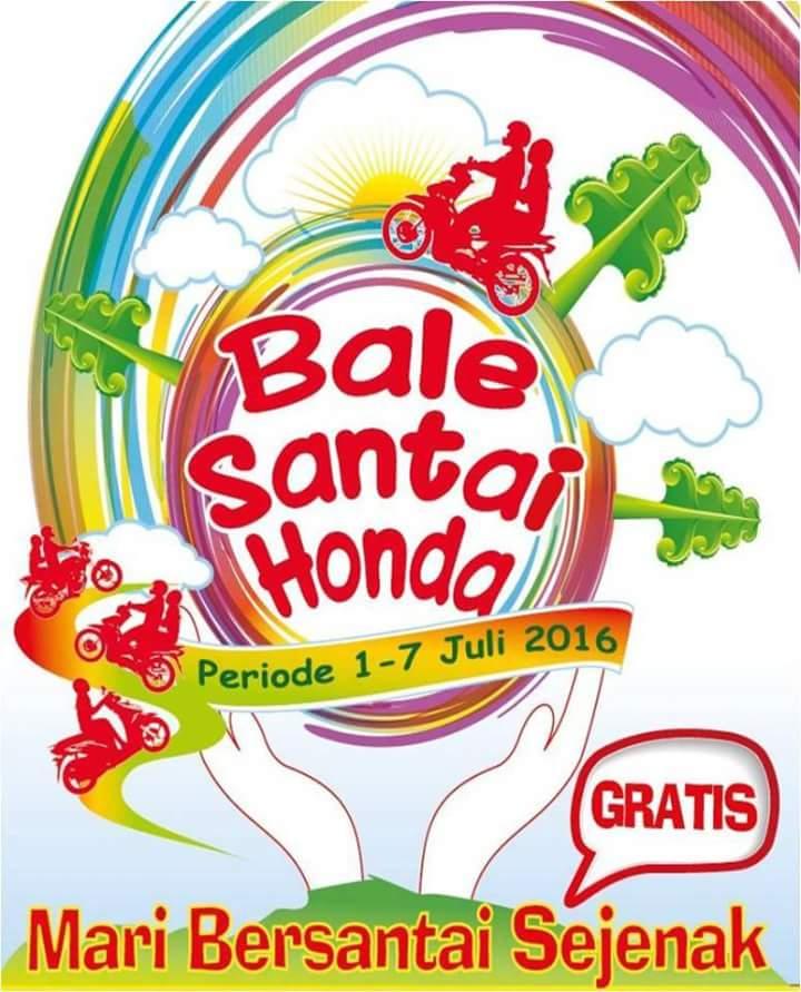 Lokasi Bale Santai Honda 2016 Jawa Timur
