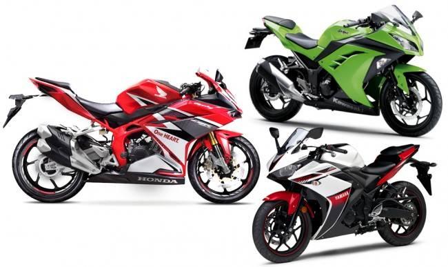 Komparasi power CBR 250RR, YZF-R25, Ninja 250 FI, tipis ternyata brosis…