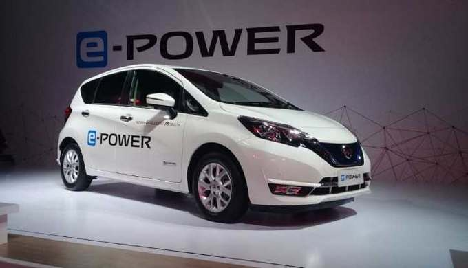 Mobil rendah emisi Nissan Note e-power