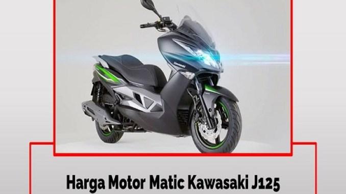 Kawasaki J125 Tampilan