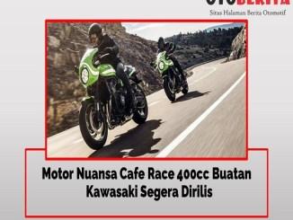 Motor Ala Cafe Racer 400cc Milik Kawasaki