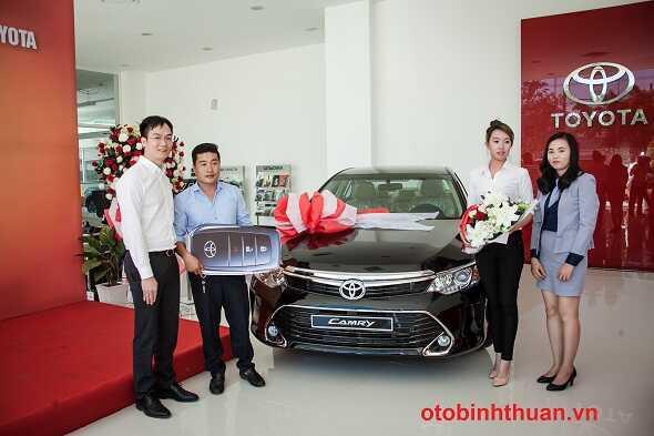 Le ban giao xe tai Toyota Nha Trang  otobinhthuan vn