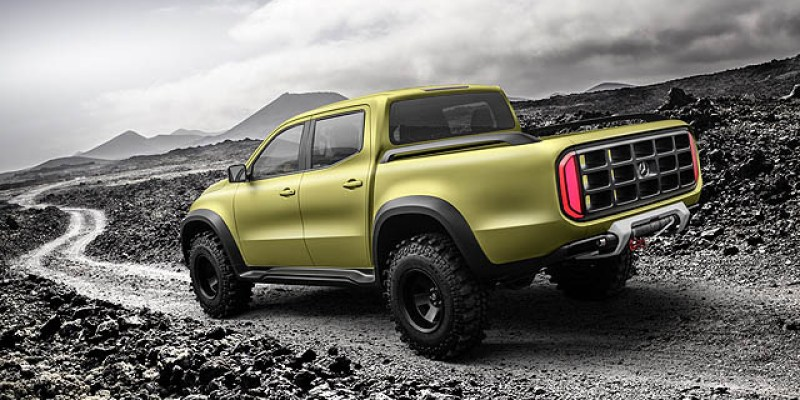 MOTORTREND Indonesia Review: Mercedes-Benz Concept X-Class
