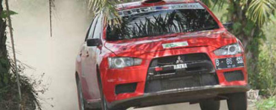 Antusiasme Pereli Muda di Kejurnas Rally dan Sprint Rally Ogan Ilir
