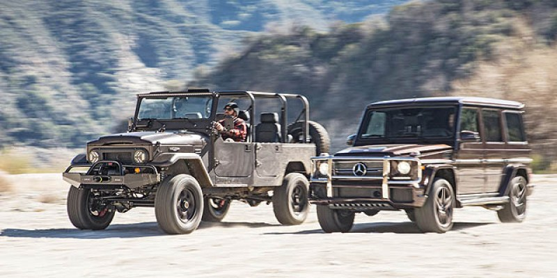 Comparison | Rubicon vs G550 vs Land Cruiser