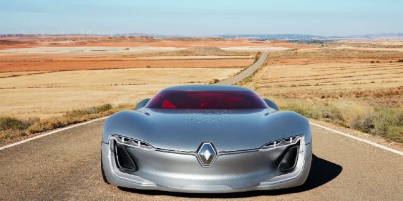 "FIRST LOOK | Renault Trezor Concept: ""Romantic Fantasy"""
