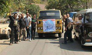 Bantuan Air Bersih ke Gunung Kidul