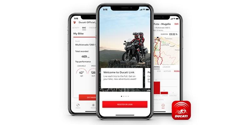 Ducati Link, Bisa Touring Sambil Narsis di Sosmed
