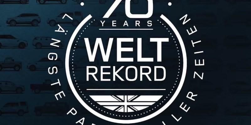Parade 632 Land Rover Pecahkan Rekor Dunia