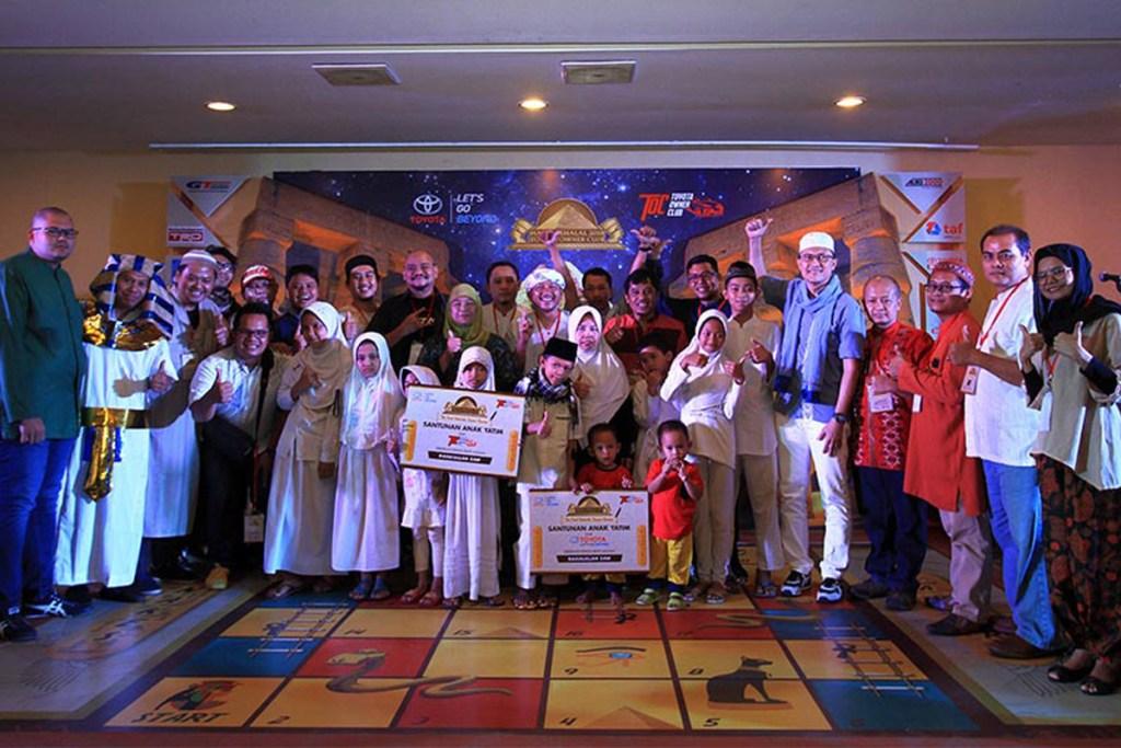 TOC Gelar Halal Bihalal Sembari Baksos