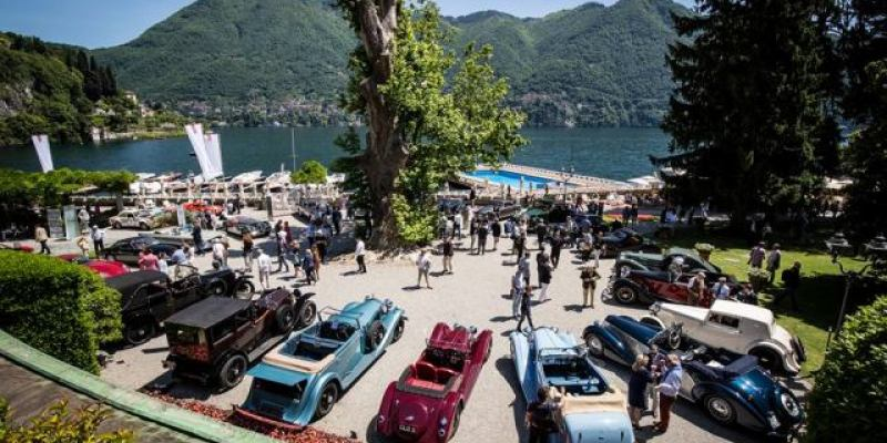 "Concorso Villa d'Este 2018, Angkat Tema ""Hollywood on the Lake"""