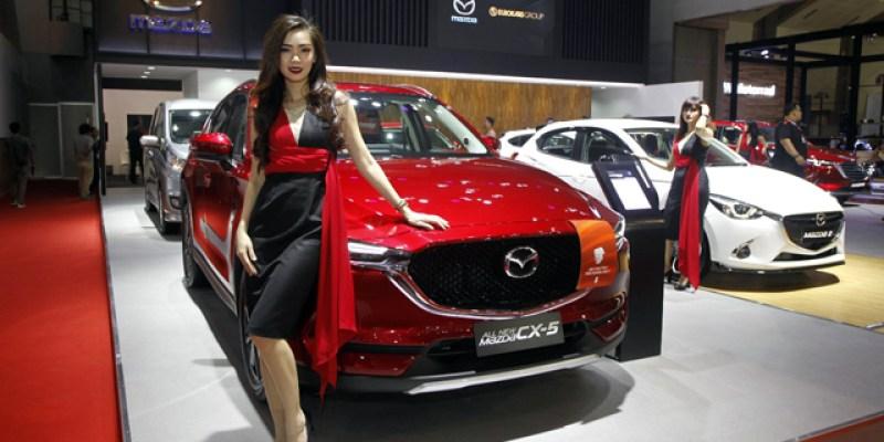 Lampaui Target, Mazda Semringah dengan Penjualan di IIMS 2018