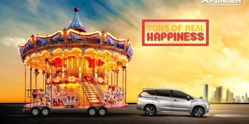 """Mitsubishi Xpander Persembahkan """"Tons of Real Happiness"""""""