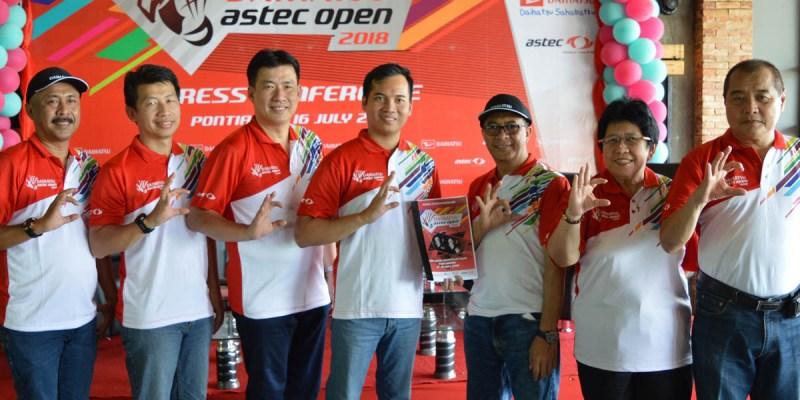 Daihatsu Astec Open 2018 Sambangi Pontianak