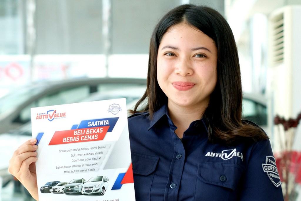 Program Menarik Suzuki Auto Value Untuk Mobil Bekas