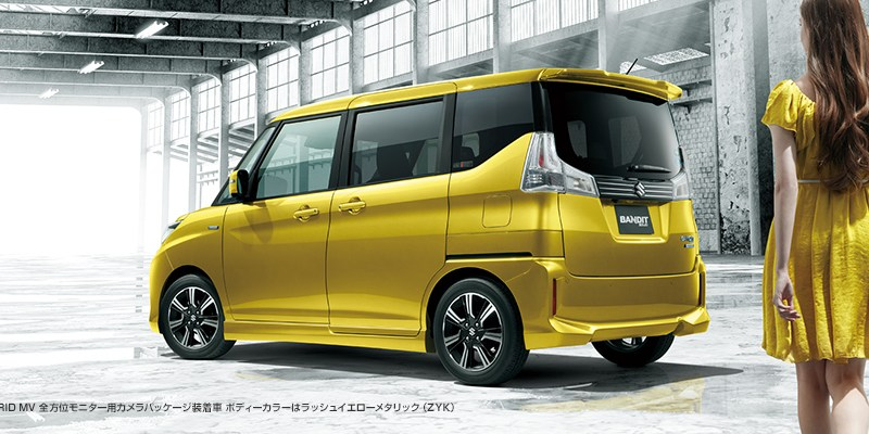 Suzuki Bandit Solio, 1 Liter Bisa Tembus 32 Km