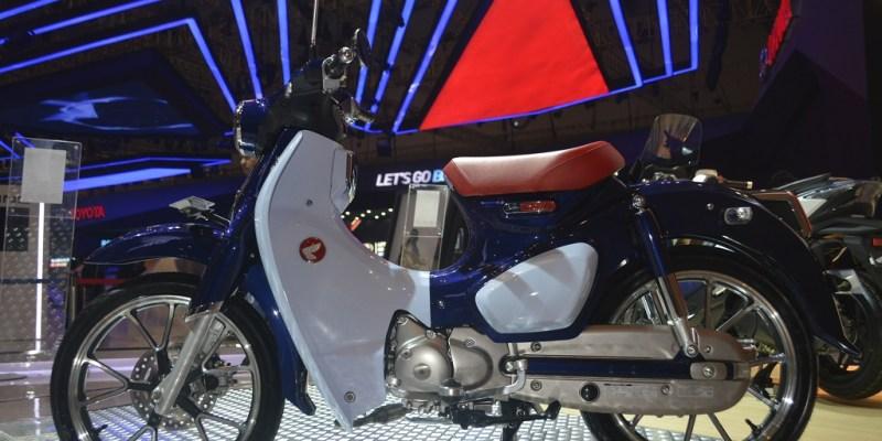 Honda Super Cub 125, Jadi Magnet di GIIAS 2018