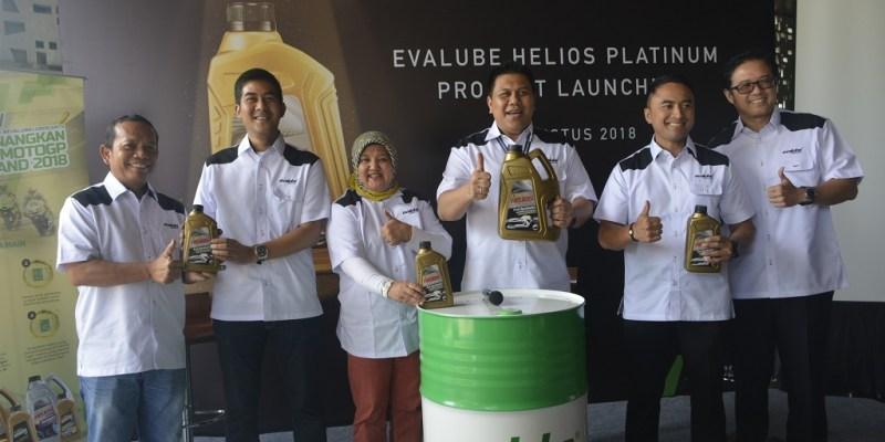Evalube Luncurkan Helios Platinum di GIIAS 2018