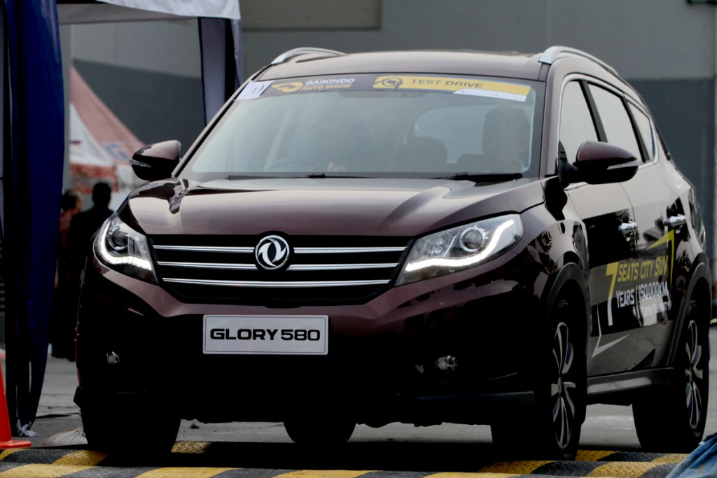 GLORY 580 Posisi Ketiga Favorite Passenger Car GIIAS 2018