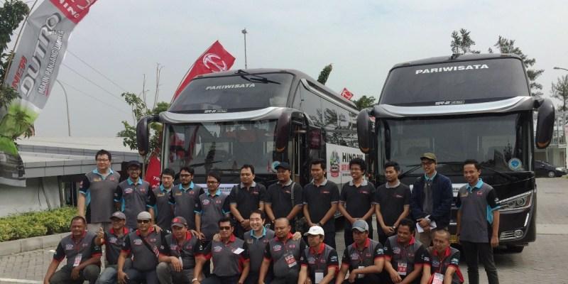 Hino Safety Driving Competition Singgah di Yogyakarta