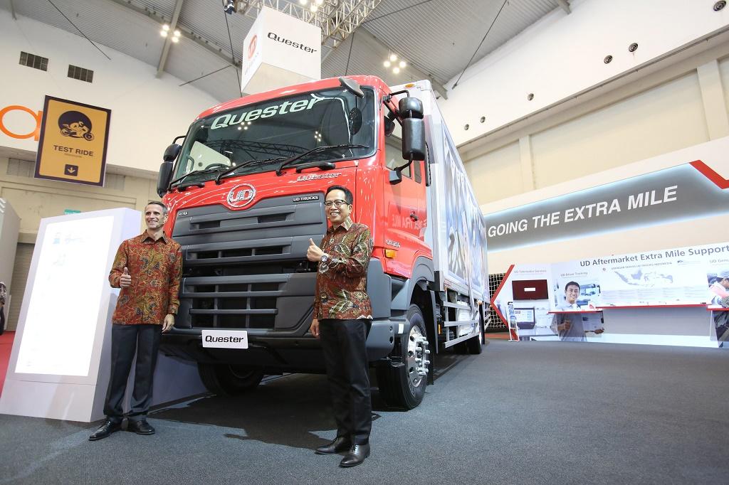 UD Trucks Pamer 4 Produk Andalan di GIIAS 2018