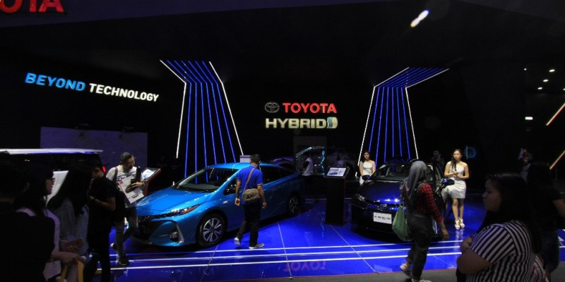 Toyota Catatkan 6.022 SPK di GIIAS 2018