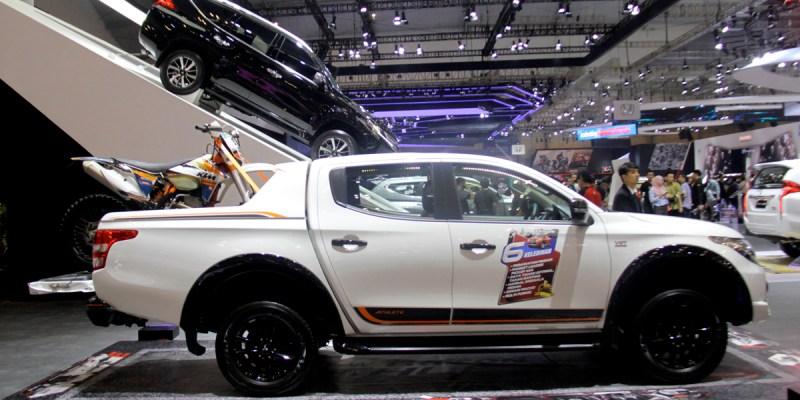 New Mitsubishi Triton Athlete, Cocok Salurkan Hobby