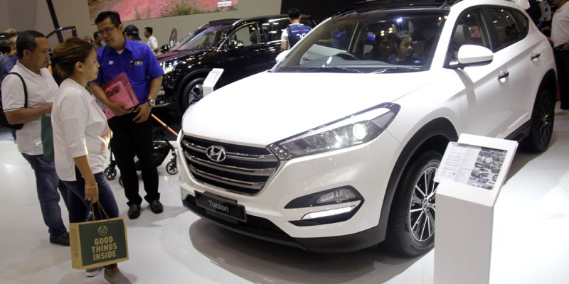 All New Hyundai Tucson Terpesan 58 Unit di GIIAS 2018