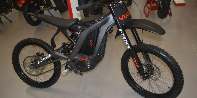 Viar E-Cross, Sepeda Offroad Pemikat Pengunjung GIIAS 2018