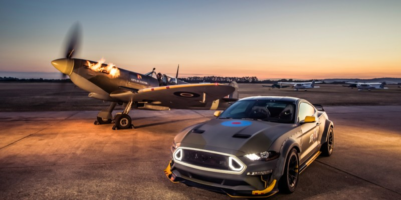 Ford 'Eagle Squadron' Mustang GT Ada yang Tebus Rp 6,1 Miliar