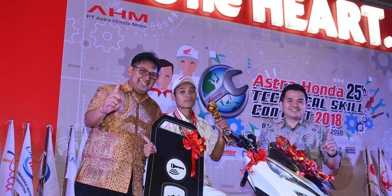 Astra Honda Technical Skill Contest 2018, Jabar Bertahan