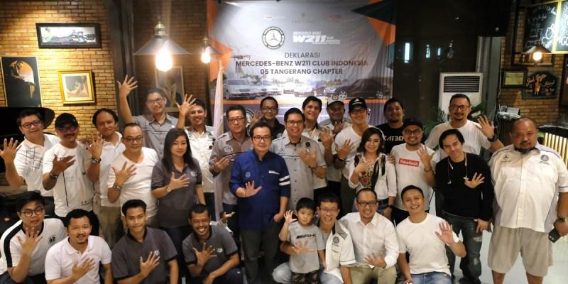 Deklarasi MB W211 CI Chapter Tangerang
