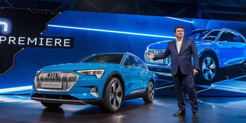 Mobil Listrik Audi e-tron, Bisa Ditebus Rp 1,3 Miliar